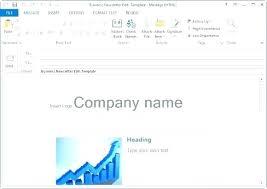 Create Outlook Message Template Create Html Email Template Outlook Outlook Email Formatting Issue