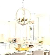 wood orb chandelier wooden light this large and stunning distressed white barrel will uk
