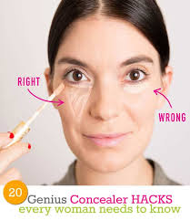 20 genius concealer hacks every woman needs to know beauty and makeup tips