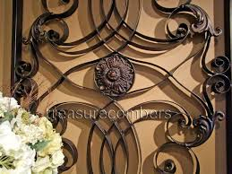featured photo of tuscan metal wall art