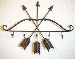 Nursery Coat Rack Coat Rack Coat Hooks Arrow Decor Arrow Wall Decor Nursery Decor 67