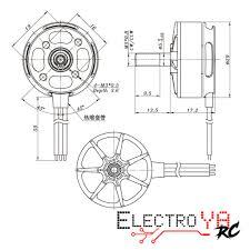 pack 4 2306kv sunnysky r2300 engines electroya rc racing drones sunnysky measures 2306 power edge