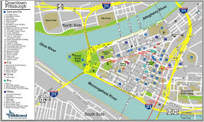 large pittsburgh maps for free download and print  high
