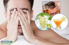 Resultado de imagen para Remedios para resaca, cruda, guayabo o goma