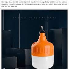Bóng đèn Led sạc tích điện đầu USB