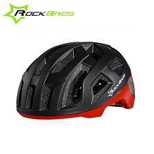 Rockbros Helmet With Lights Rockbros Bicycle Helmets Men Women Ultralight Cycling Helmet Back Light Mountain Road Bike Integrally Molded Helmet In Bicycle Helmet From Sports