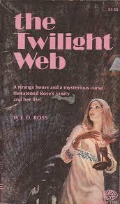 Goth Light Novel The Twilight Web Vintage Gothic Romance Books Covers