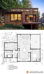 small contemporary house plans. Delighful Contemporary Modern Style House Plans  2 Beds 1 Baths 840 SqFt Plan 8913 Other Floor  Houseplanscom For Small Contemporary E