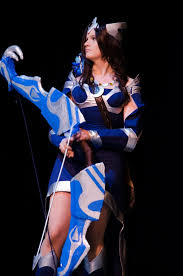 dota2 mirana cosplay by samedigrimm on deviantart