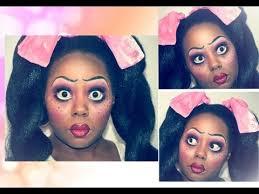 american doll makeup tutorial