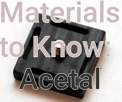 Delrin Design Guide Materials To Know Acetal And Delrin Hackaday