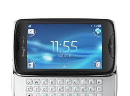 sony mobile. sony ericsson txt pro mobile