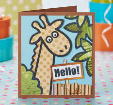 printable children s birthday cards free safari printables from papercraft inspirations 139