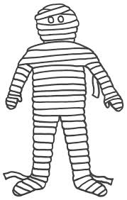 Small Picture Halloween Coloring Pages Mummy Coloring Pages