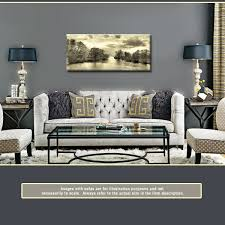 cream black and white landscape 44x20 inch panoramic canvas wall art print on black and cream wall art uk with cream black and white landscape 44x20 inch panoramic canvas wall art