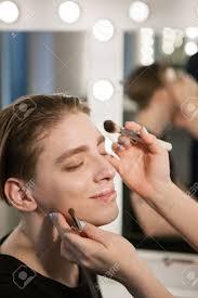 mens makeup a happy man will enjoy the make up process make