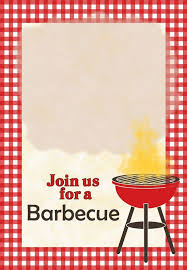 Barbeque Invitation Bbq Invitation Template A Barbecue Free Printable Party Invitation