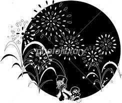 夏 花火 かわいいイラスト 素材 イラスト素材 2585914 フォト
