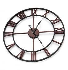 wall clock big roman numerals giant
