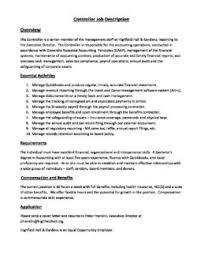 Job Profile Of Document Controller Controller Job Description Highfield Hall Highfield Hall