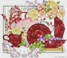 Схема вышивок картин для кухни