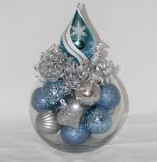 Christmas Table Decoration Ideas Blue Silver Christmas Table