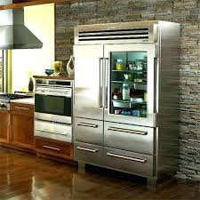 glass door refrigerator for home designg fridge frosted sub zero