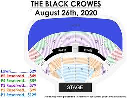 Bonner Springs Amphitheater Seating Chart Concert Events Calendar Kansas City