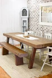 dining room reveal oak tabletable