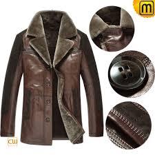 shearling coat for men cw877145 jackets cwmalls com