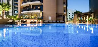 hotel outdoor pool. Hotel Outdoor Pool Majestic Tower Dubai