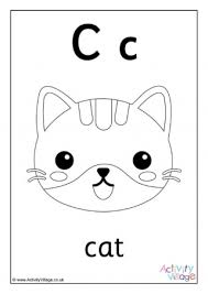 See more ideas about alphabet coloring pages, alphabet templates, christmas lettering. Letter C Colouring Pages