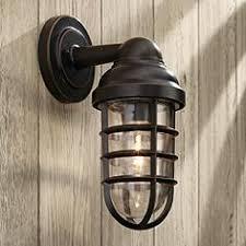 exterior barn lamps. marlowe bronze 13 1/4\ exterior barn lamps y