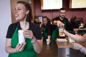 part time jobs better perks than yours new york post starbucks
