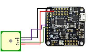 naze 32 revision 6 flight controller guide guides dronetrest naze32 gps connection jpg737x421 66 9 kb