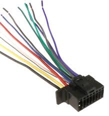 details about new sony 16 pin radio wire harness car audio stereo power plug back clip 2016 up