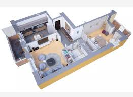 3 bedroom home design plans. Simple Home Plans Of 3 Bedrooms Apartmenthouse On Design Bedroom Home Charming 1 Bedroom  Designs 30 3dfloorplans 004 House Designs