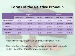 Relative Pronouns And Relative Clauses Magister Henderson