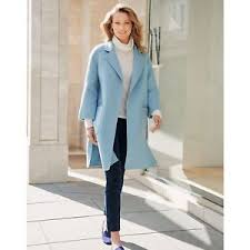 Blue Coat Details About Luxe Pure Collection Wool Mix Ice Blue Coat Belt Pockets Uk14 Eu42 Bnwt 299