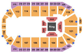 1stbank Center Tickets And 1stbank Center Seating Charts