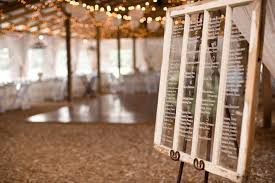 Detail To Love Window Pane Seating Chart Every Last Detail
