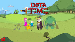 dota time adventure time turboportal