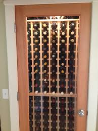 small closet wine cellar design pine premium racks
