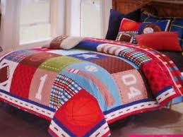 NEW Virah Bella Collection 2 PC TWIN SPORTS Quilt Sham Set ... & Image is loading NEW-Virah-Bella-Collection-2-PC-TWIN-SPORTS- Adamdwight.com