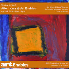 April 12th After Hours At Art Enables Lets Catch Up Art Enables