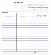 cash log template cash receipt template word unique petty cash log template the 30