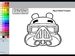 Small Picture Angry Birds Coloring Pages For Kids Angry Birds Coloring Pages