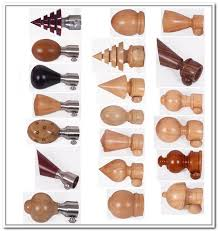 luxury wood curtain rods canada wooden finials for curtain rods