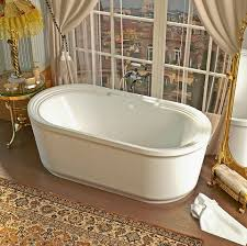 roman soaking tub.  Roman Padre 34x67 Oval Freestanding Soaking Tub VZ3467RS From Venzi For Roman R