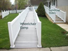 walker stairs or handicap stairs are ideal for people who utilize walkers walker stairs are usually 3 wide a little deeper than the walker itself